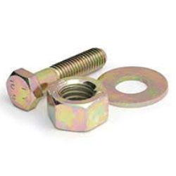yellow zinc plated fasteners manufacturer in india