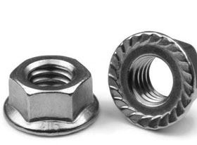 hex flange nuts supplier in India