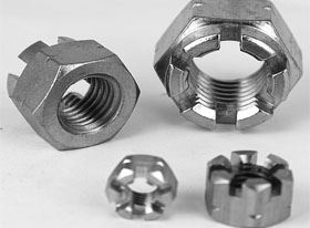 slotted nuts supplier in India